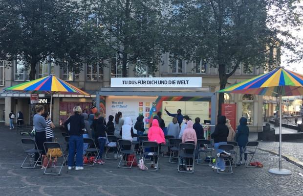 Faires Frühstück auf dem Augustusplatz - Open Fair
