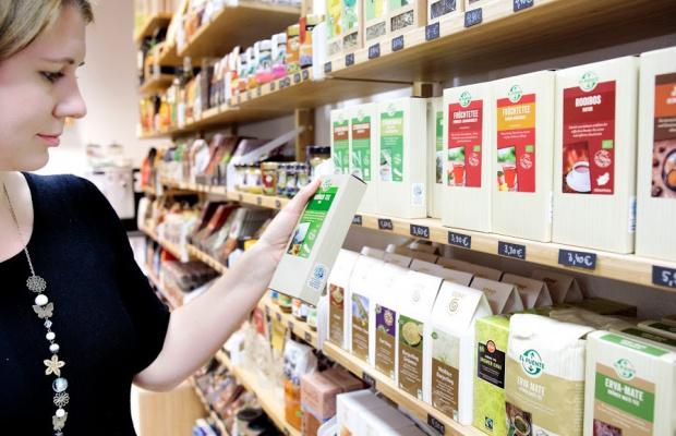 Einkauf faire Lebensmittel